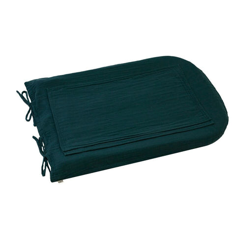 changing pad cover round petrol