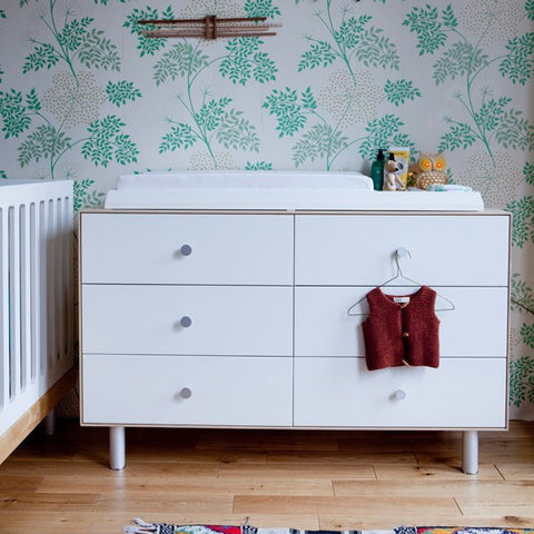 Merlin 6 drawer dresser classic