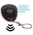 Personal Alarm with Key ring and LED Light Made in UK