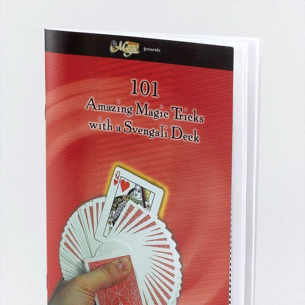 101 Magic Tricks Book For S/deck |Magic And Conjuring| Unisex One Size - Magic Tricks Mad Fancy Dress