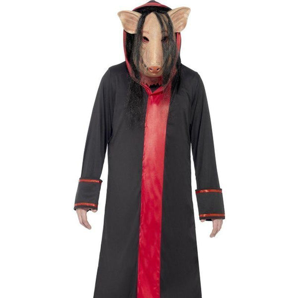 Saw Pig Costumes Adult Black - Saw Licensed Fancy Dress Mad Fancy Dress