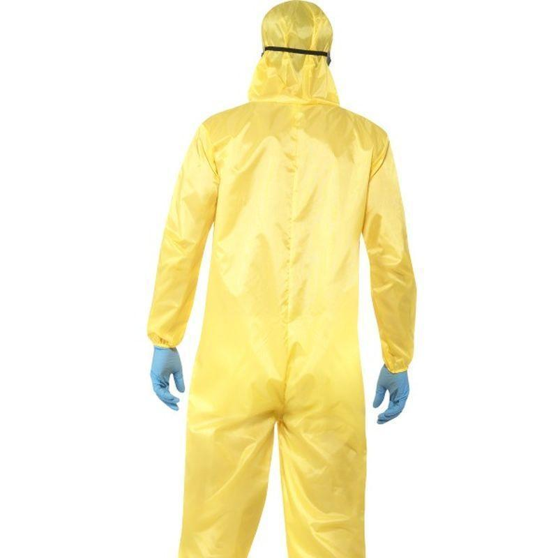 Breaking Bad Costume Adult Yellow - Breaking Bad Licensed Fancy Dress Mad Fancy Dress