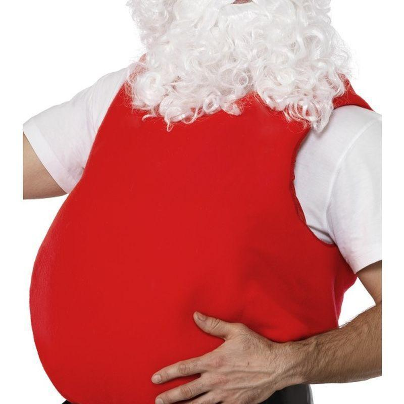 Santa Belly Stuffer Adult Red - Christmas Accessories Mad Fancy Dress