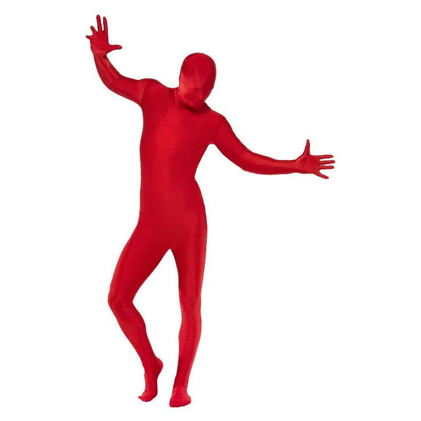 Second Skin Suit, Red
