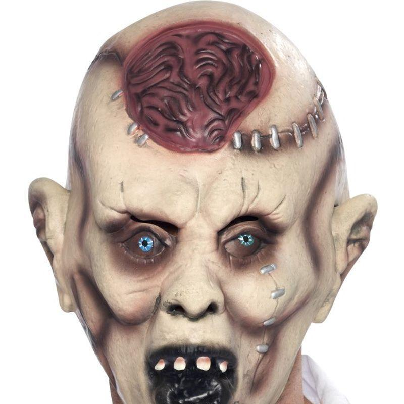 Autopsy Zombie Mask Adult Grey/red - Halloween Costumes & Accessories Mad Fancy Dress