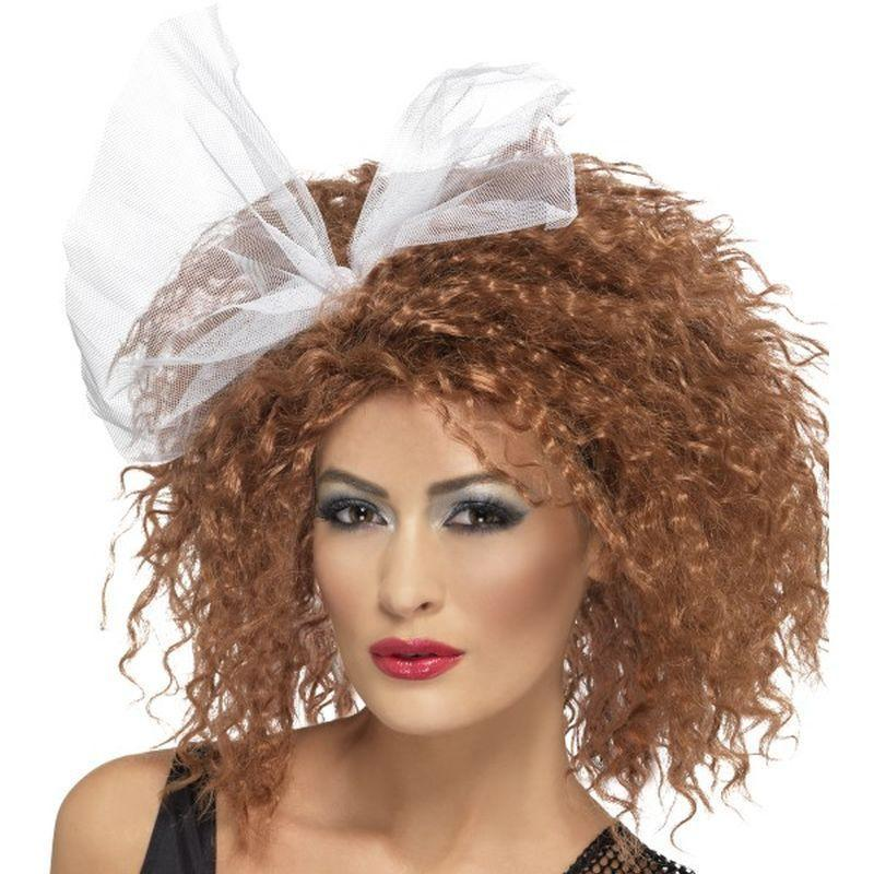 80S Wild Child Wig Adult Brown - 1980S Mad Fancy Dress