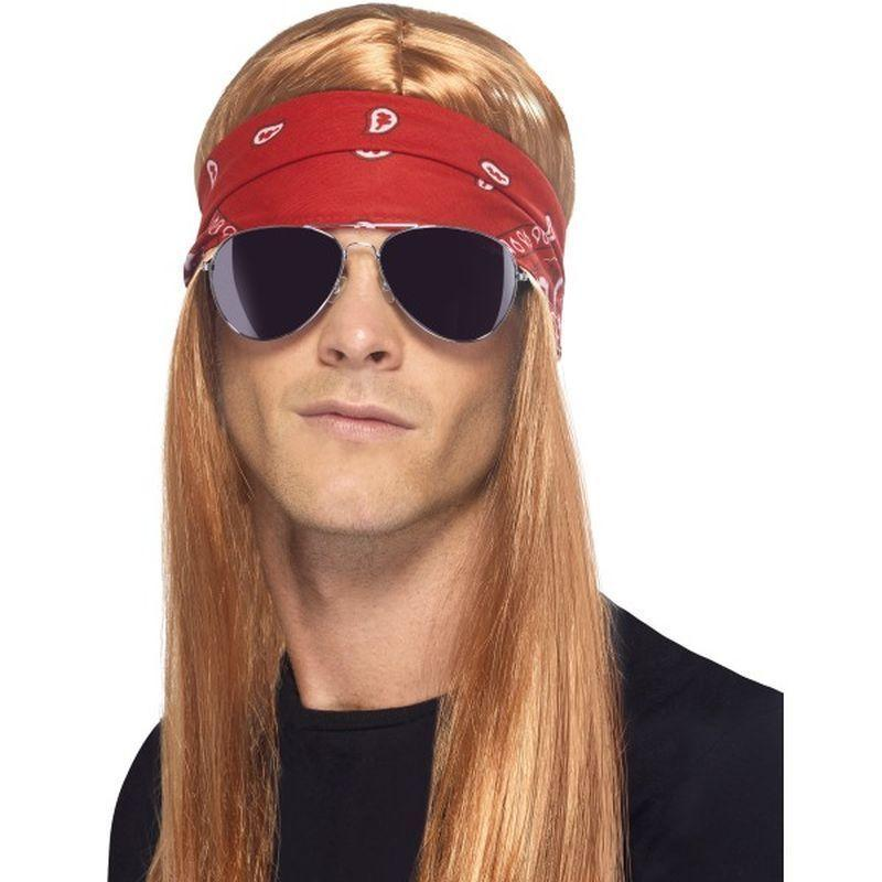 90S Rocker Kit Adult Black - 1990S Theme Fancy Dress Mad Fancy Dress