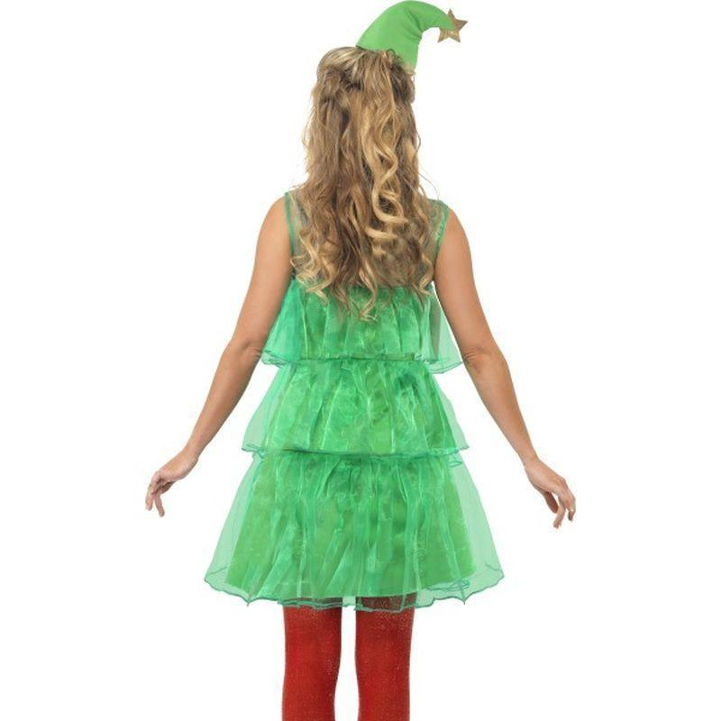 Christmas Tree Costume Adult Green/red - Christmas Costumes For Men Mad Fancy Dress