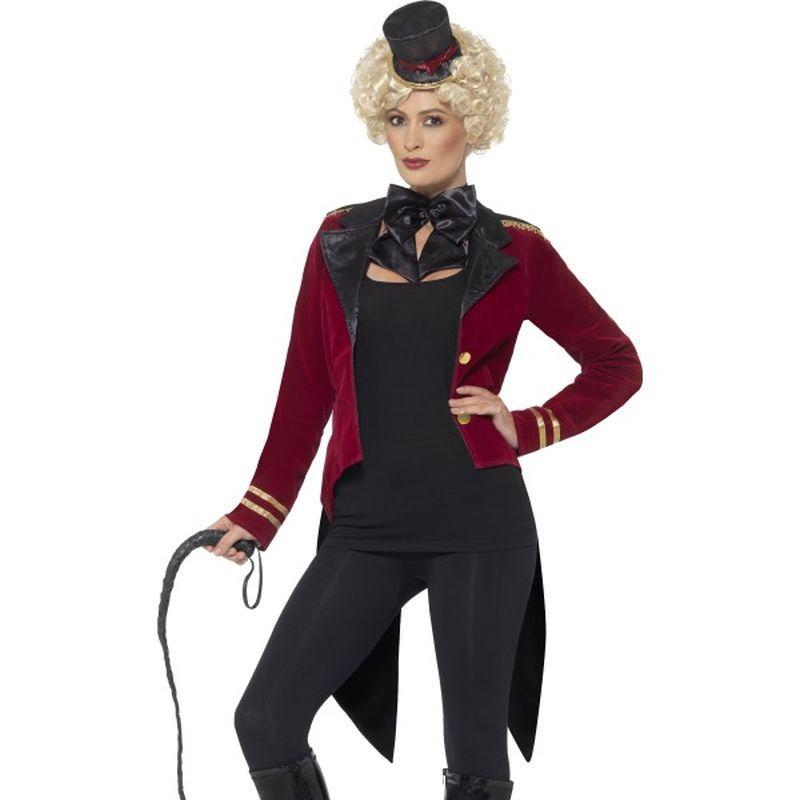 Ringmaster Costume Adult Red