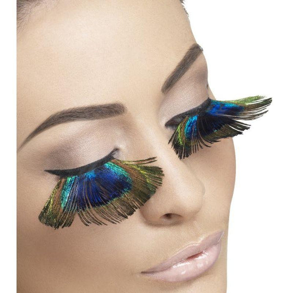 Eyelashes, Peacock Feathers