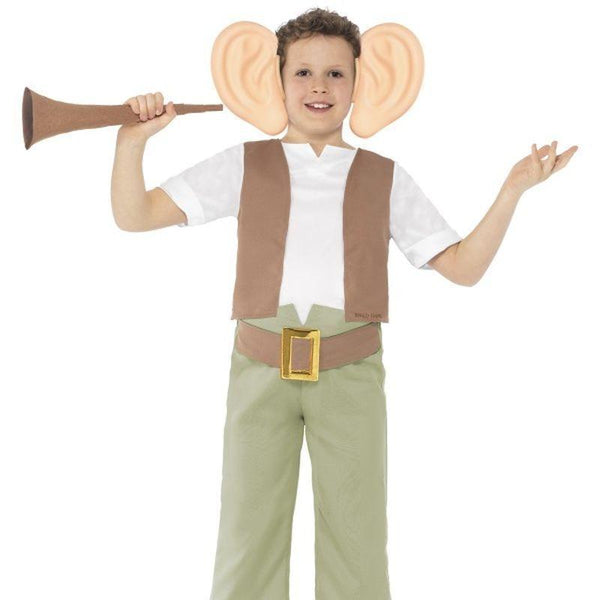 Roald Dahl Bfg Costume Kids Brown/white - Roald Dahl Licensed Fancy Dress Mad Fancy Dress