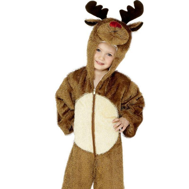 Reindeer Costume Kids Brown - Christmas Costumes For Women Mad Fancy Dress