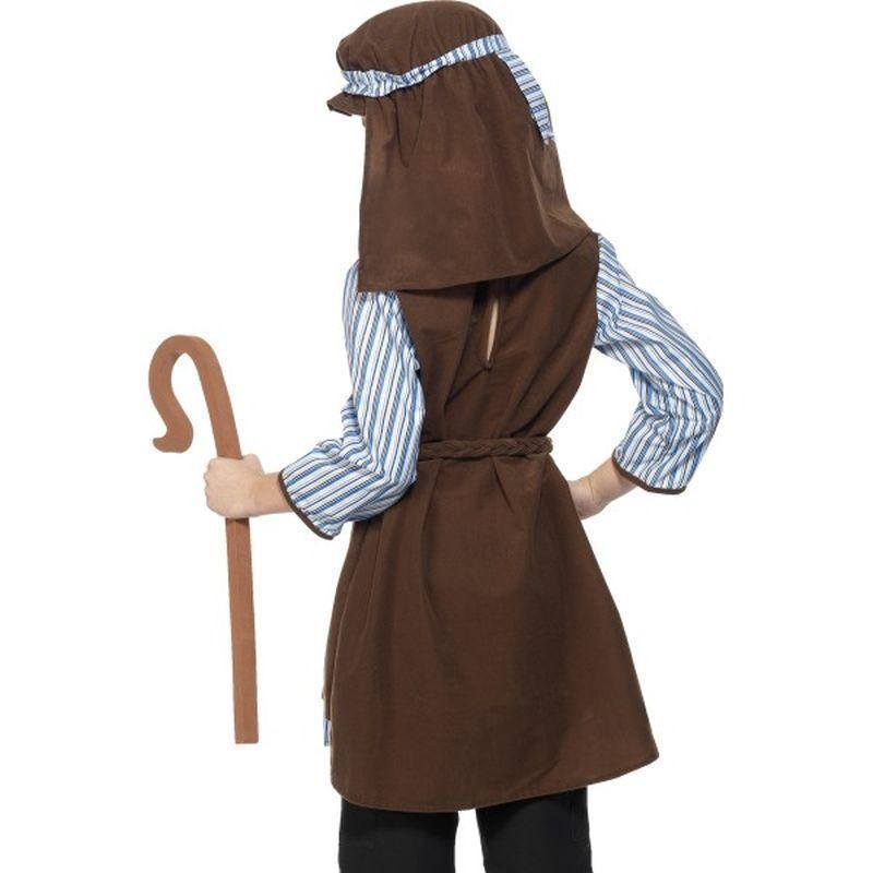 Shepherd Costume Kids Brown/blue - Childrens Christmas Costumes Mad Fancy Dress