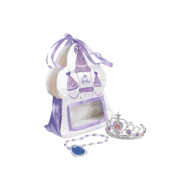 Rubie's Official Child's Sofia Satin Bag With Tiara And Amulet
