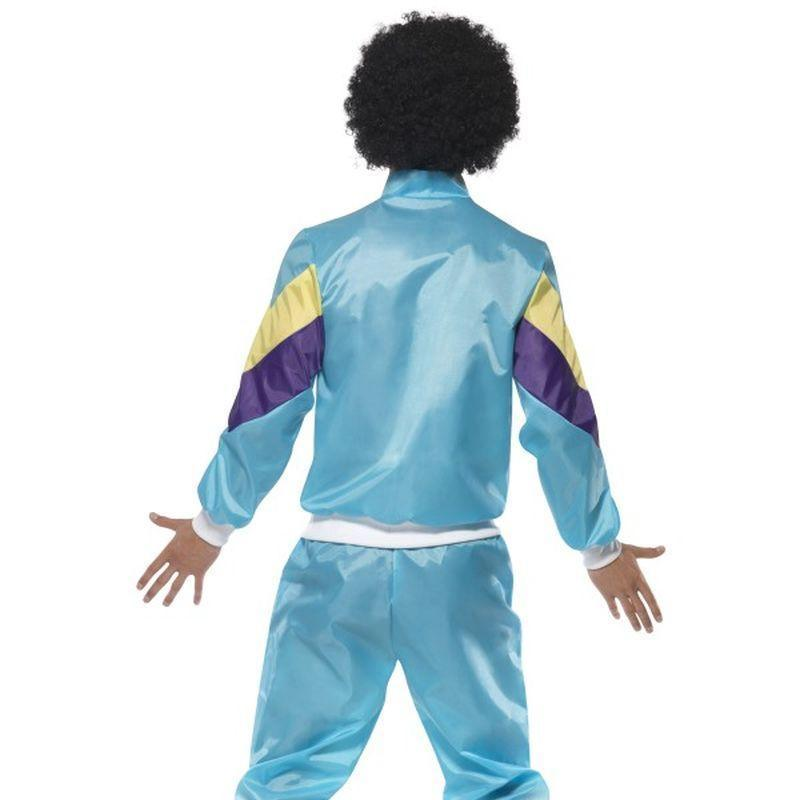 Mens 80s 1980s Shell Suit Fancy Dress Costume Scouser New by Smiffys