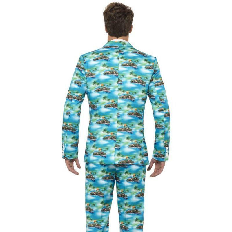 Aloha! Suit Adult Blue - Stands Out Suits Mad Fancy Dress