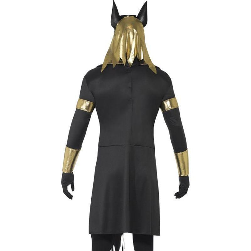 Anubis The Jackal Adult Black - Halloween Costumes & Accessories Mad Fancy Dress