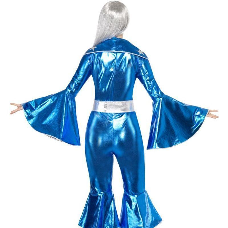 1970S Dancing Dream Costume Adult Blue - 70S Disco Mad Fancy Dress