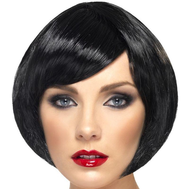 Babe Wig Adult Black - Ladies Wigs Mad Fancy Dress