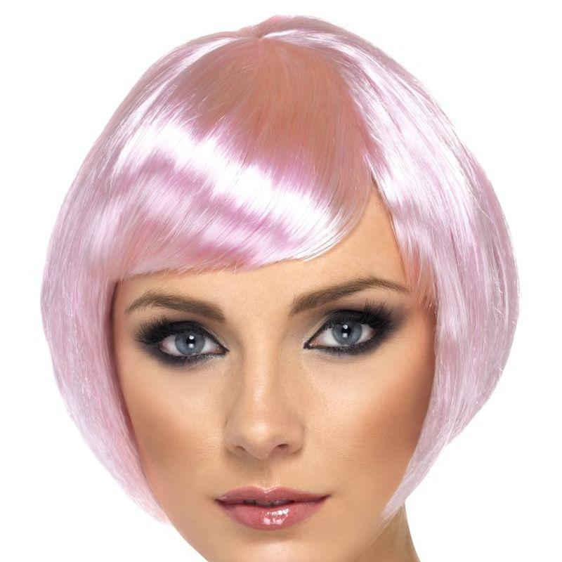 Babe Wig Adult Pink - Ladies Wigs Mad Fancy Dress