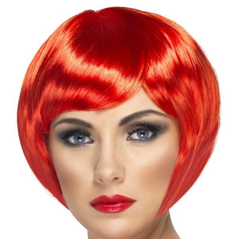 Babe Wig Adult Red - Ladies Wigs Mad Fancy Dress