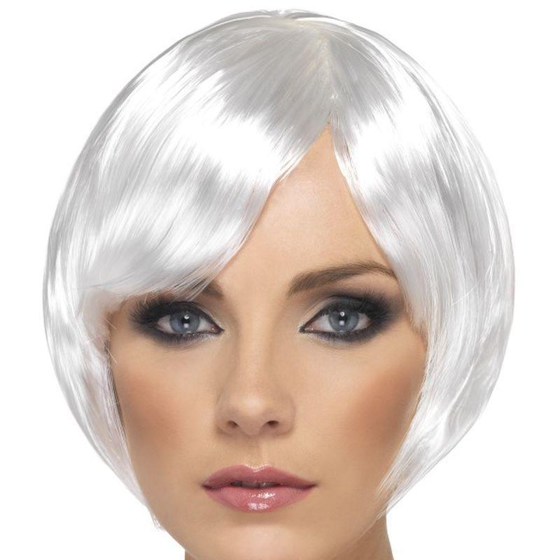 Babe Wig Adult White - Ladies Wigs Mad Fancy Dress