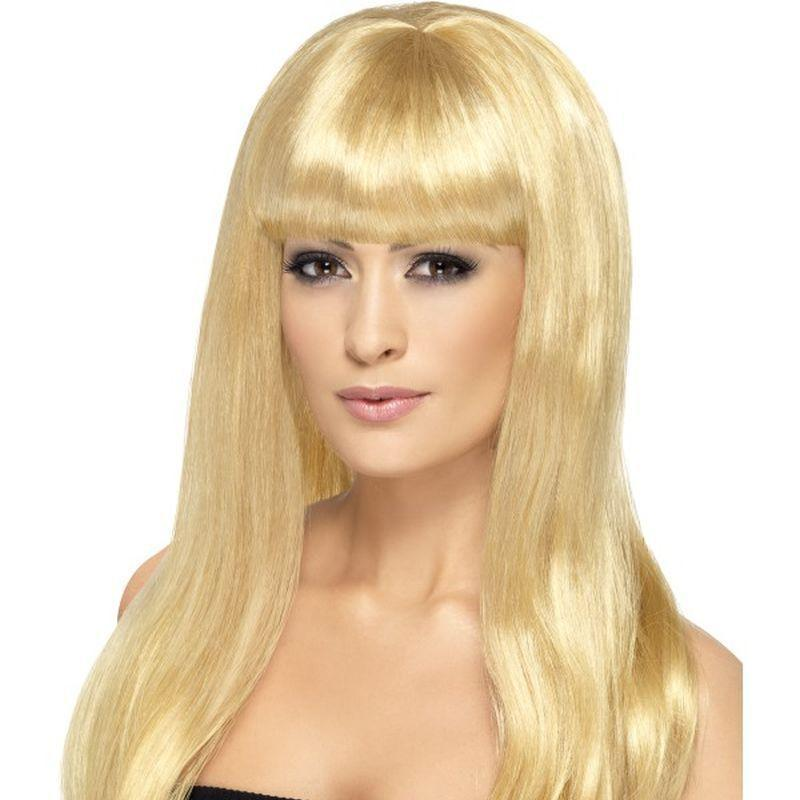 Babelicious Wig Adult Blonde - Ladies Wigs Mad Fancy Dress