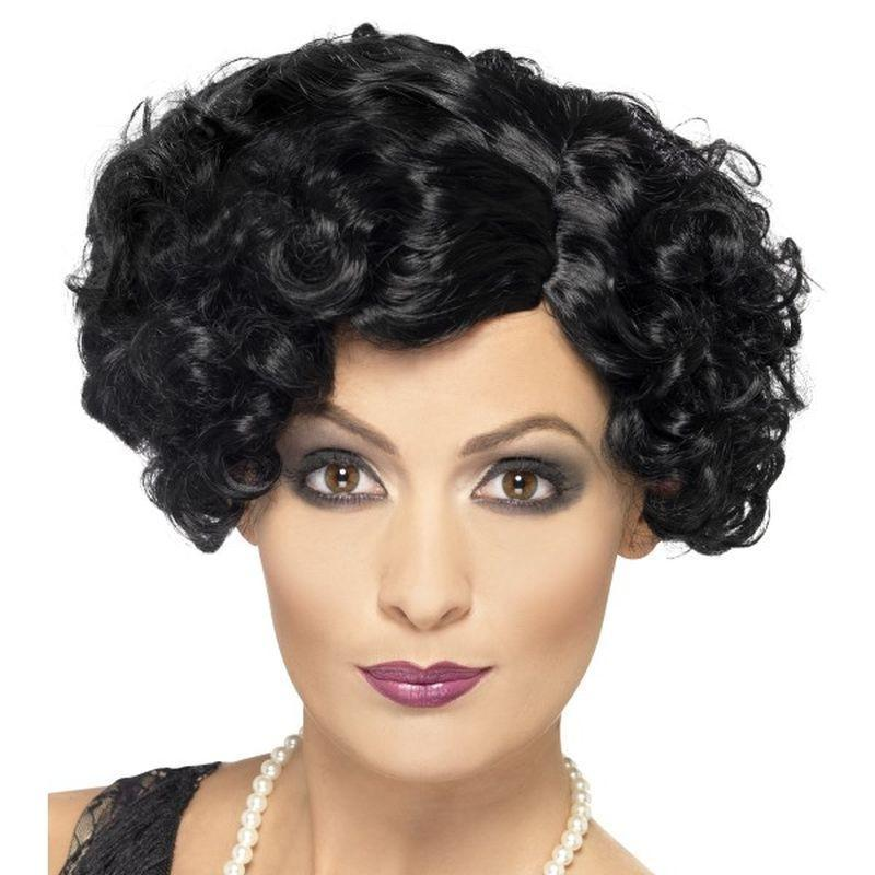20S Flirty Flapper Wig Adult Wig - 20S Razzle Mad Fancy Dress