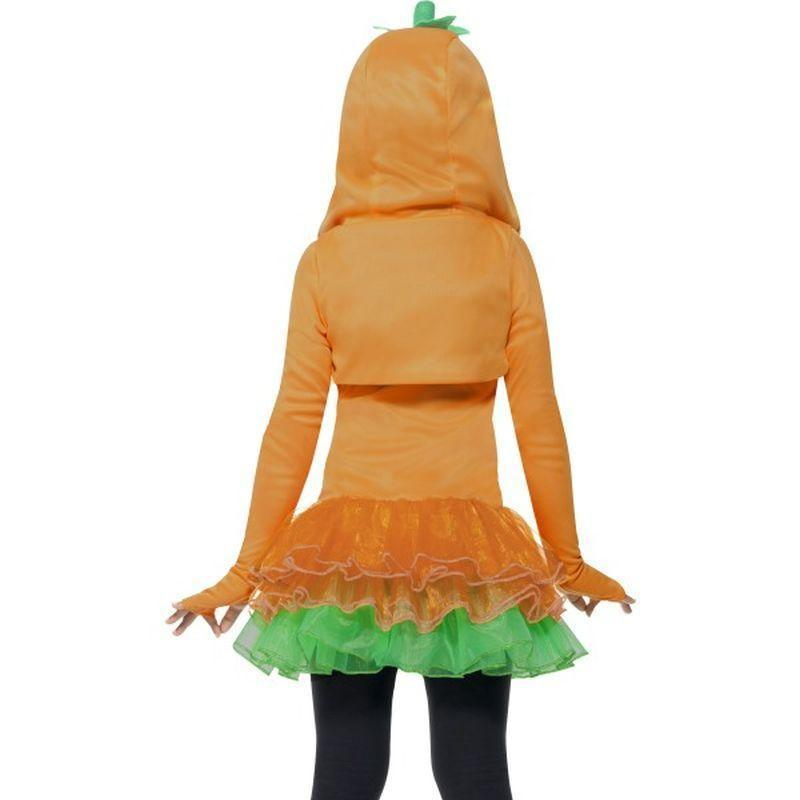 Pumpkin Tutu Dress Costume Kids Orange - Halloween Costumes & Accessories Mad Fancy Dress