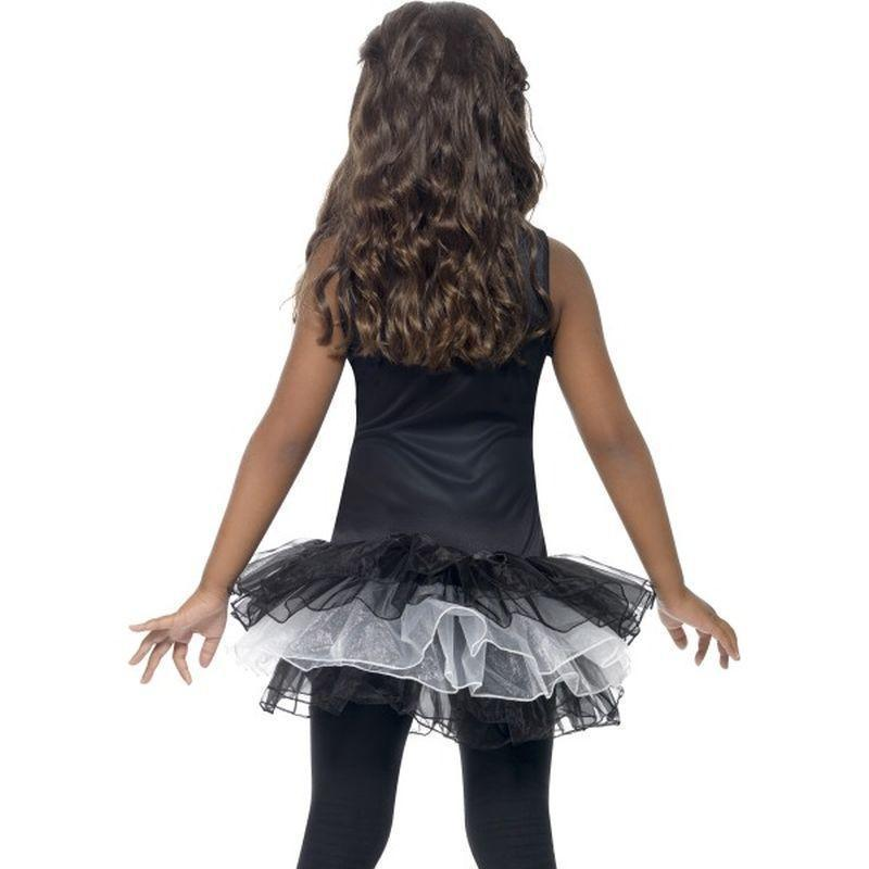 Skeleton Tutu Costume Kids Black/white - Halloween Costumes & Accessories Mad Fancy Dress