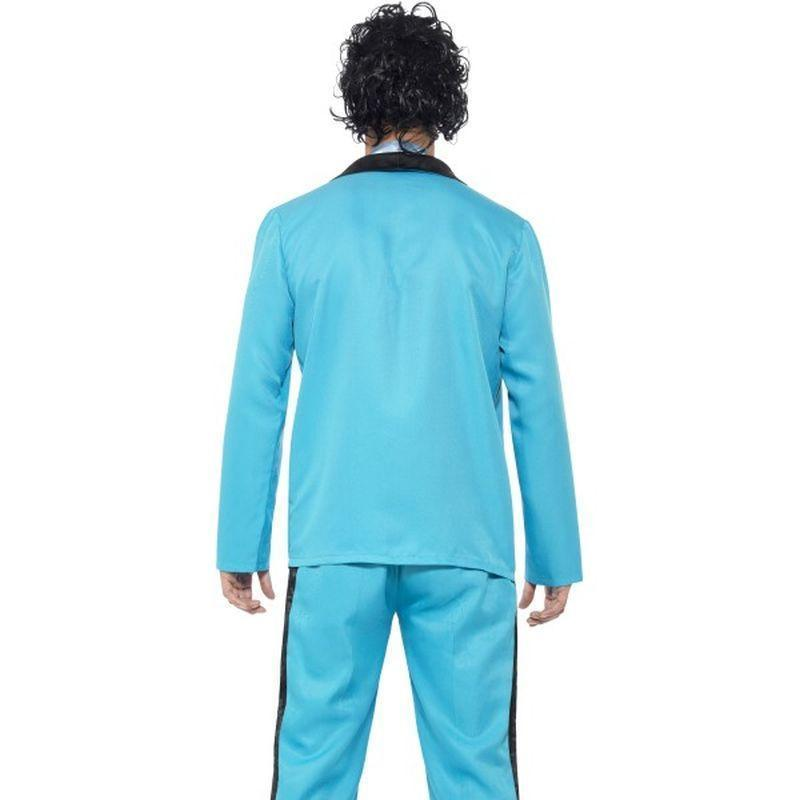 80S Prom King Costume Adult Blue - 1980S Mad Fancy Dress