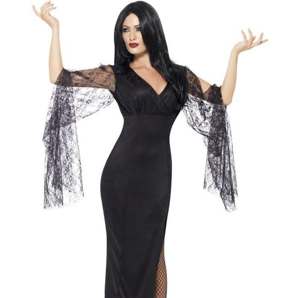 Immortal Soul Costume Adult Black - Halloween Costumes & Accessories Mad Fancy Dress