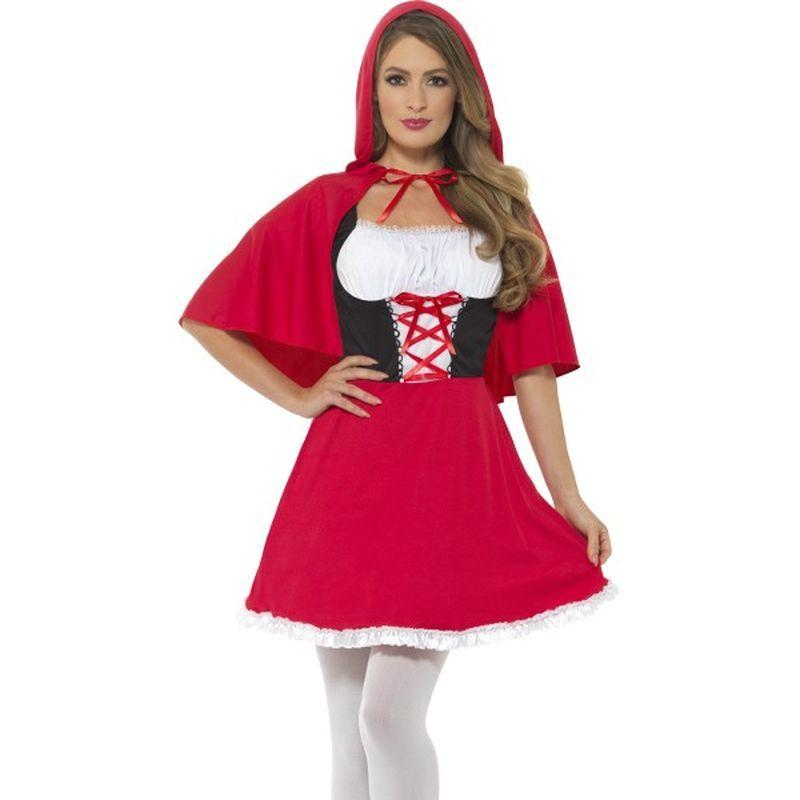 Red Riding Hood Costume Adult Red
