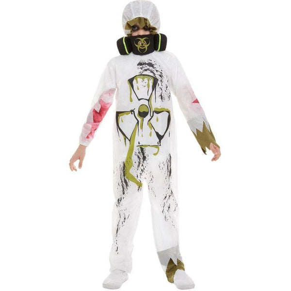 Biohazard Suit Costume Child White
