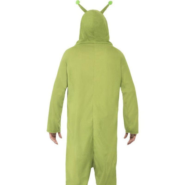 Alien Costume Adult Green - Halloween Costumes & Accessories Mad Fancy Dress