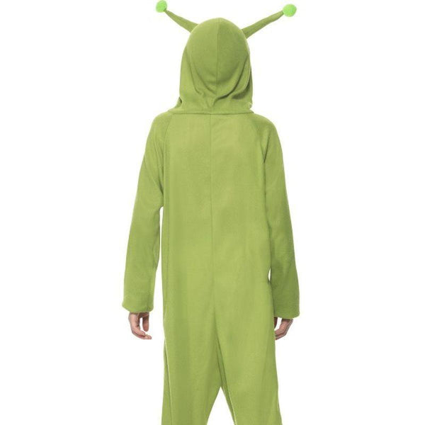 Alien Costume Kids Green - Halloween Costumes & Accessories Mad Fancy Dress