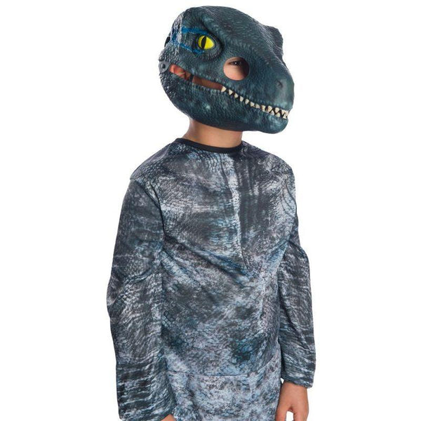 Rubie's Jurassic World: Fallen Kingdom Velociraptor Movable Jaw Child Mask