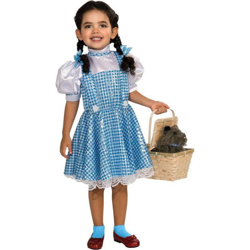 Wizard Of Oz Dorothy Sequin Costume