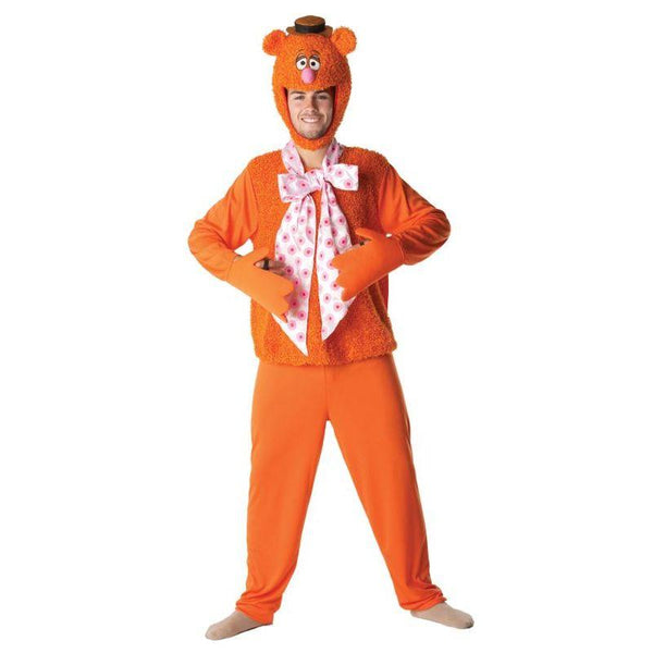 Disney Men's Fozzy Bear Fancy Dress Party The Muppets