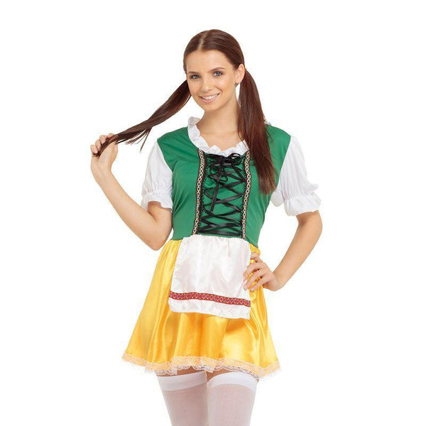 Womens Beer Lady Adult Costumes Female One Size Halloween Costume - Generic Ladies Costumes Mad Fancy Dress