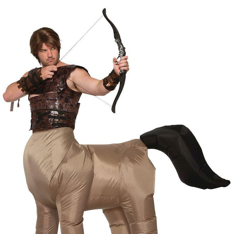 Centaur Costume Inflatable |Adult Costumes| Up To 34 Waist - Generic Mens Costumes Mad Fancy Dress