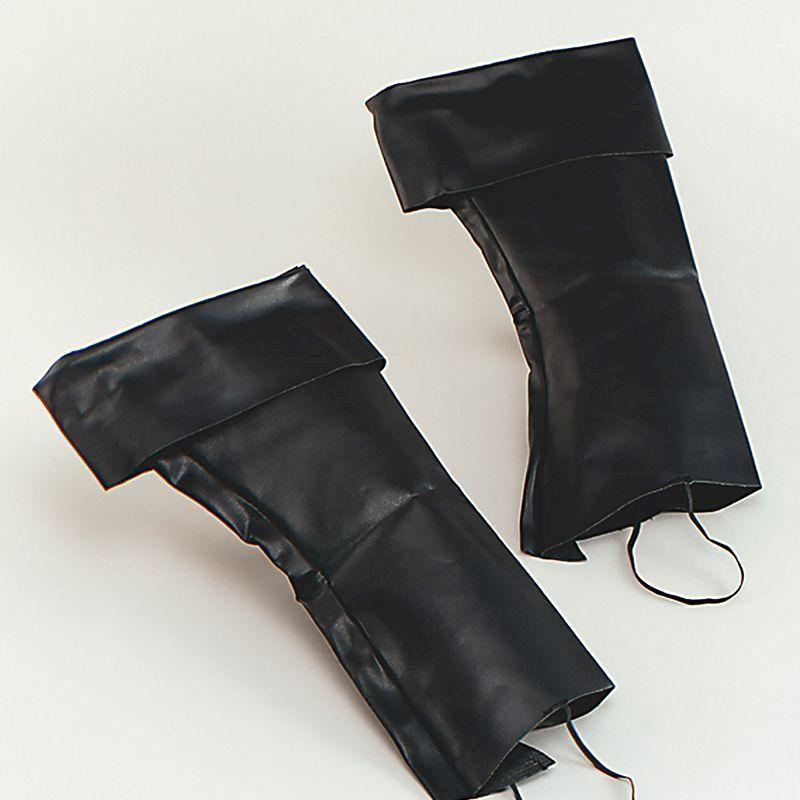 Boot Top Covers |Costume Accessories| Unisex One Size - Costume Accessories Mad Fancy Dress