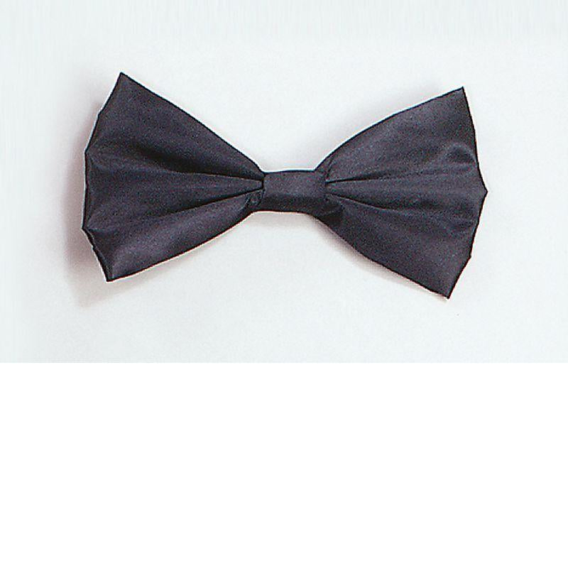 Bow Tie Black Best |Costume Accessories| Unisex One Size - Costume Accessories Mad Fancy Dress