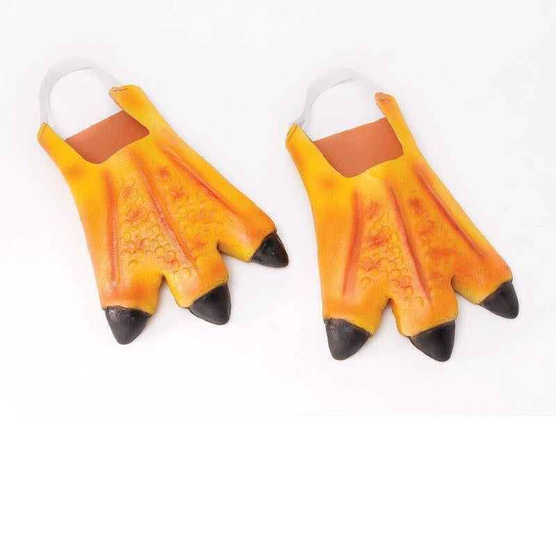 Chicken Feet |Costume Accessories| Unisex One Size - Costume Accessories Mad Fancy Dress
