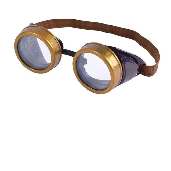 Steam Punk / Star Wars Goggles |Costume Accessories| Unisex One Size - Costume Accessories Mad Fancy Dress