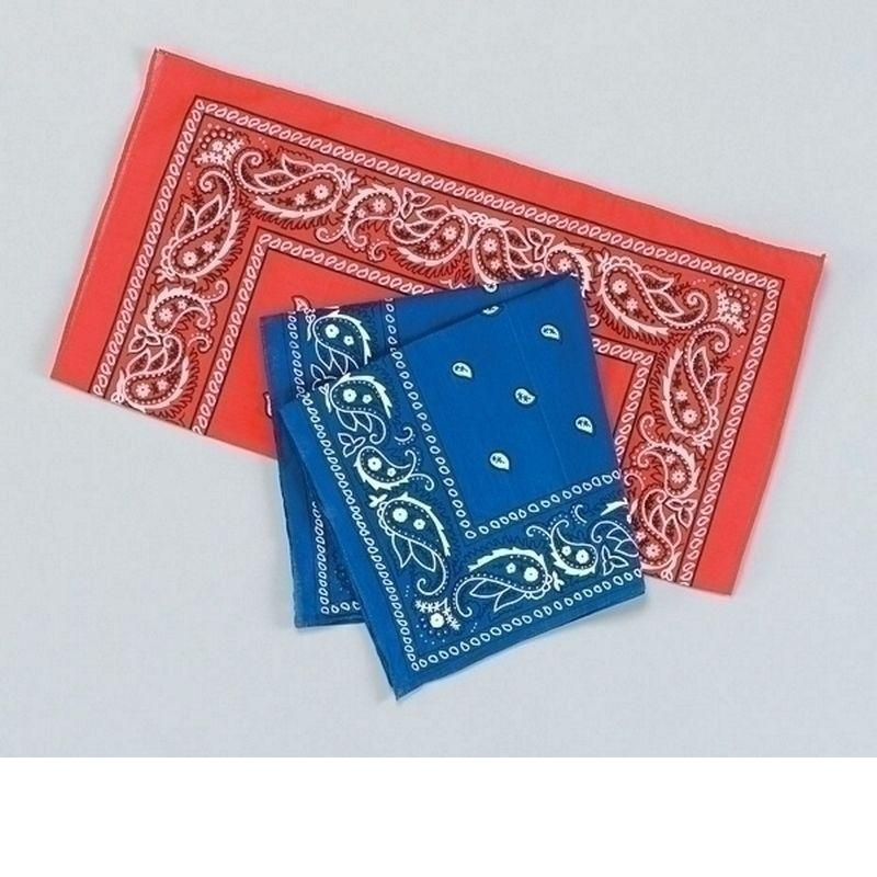 Cowboy Bandana/red |Costume Accessories| Unisex One Size - Costume Accessories Mad Fancy Dress
