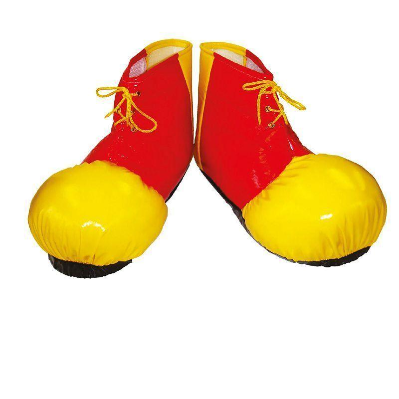 Clown Shoe Covers Adult |Costume Accessories| Unisex One Size - Costume Accessories Mad Fancy Dress