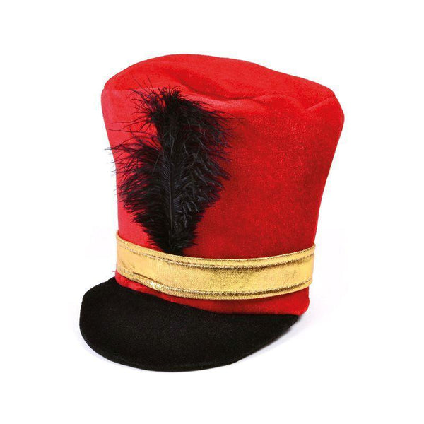 Soldier Hat Red |Hats| Unisex One Size - Hats Mad Fancy Dress