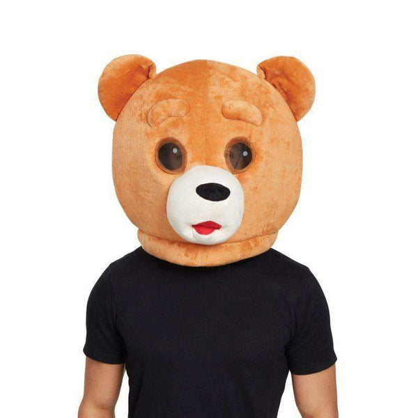 Teddy Bear Mascot Mask