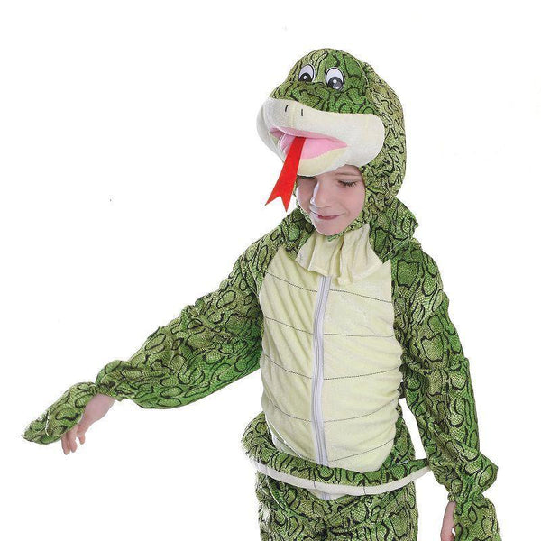Snake 128Cm| Childrens Costumes| Unisex 128Cm - Boys Costumes Mad Fancy Dress